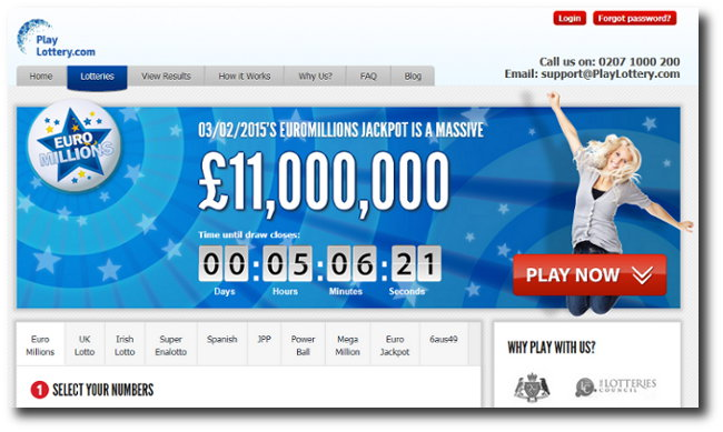 PlayLottery/Big Fat Lottos syndicate